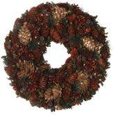 Harrods Mixed Pinecone Wreath
