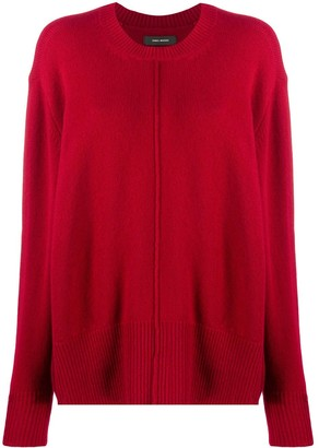 Isabel Marant Oversized Crew-Neck Jumper