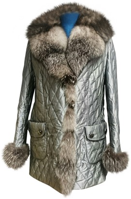 Basler Silver Fox Coat for Women