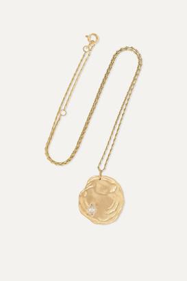Pascale Monvoisin Hayett 9-karat Gold Diamond Necklace - one size