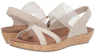 Skechers Brie - Dawdle (Natural) Women's Sandals