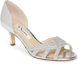 Nina Cissy Crystal Embellished Sandal