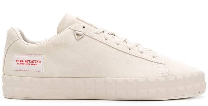 Puma X AYTAO Outlaw Moscow Court Platform Moonbeam sneakers