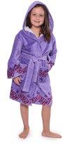 TexereSilk Texere Girl's Plush Terry Cloth Bathrobe (Butterfly