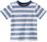 Joe Fresh Toddler Boys' Print Crew Neck Tee, Mid Blue (Size 2)