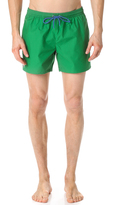 Lacoste Solid Swim Trunks