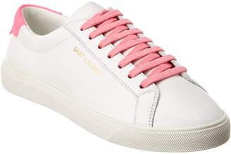Saint Laurent Leather Sneaker