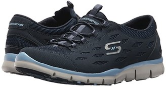 Skechers Gratis - Breezy City (Navy/Blue) Women's Shoes