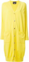 Moschino long oversized cardigan - women - Polyester/Viscose - 40