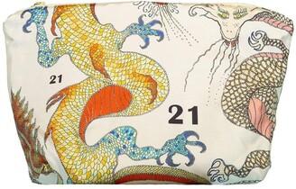 La Prestic Ouiston Dragons Ecru Voleuse Pouch