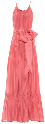 Kalita Genevieve silk maxi dress