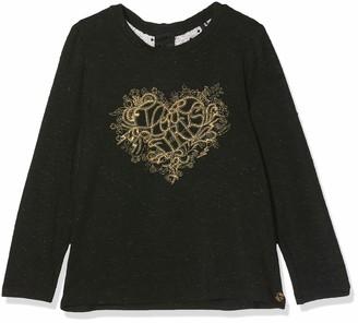 Ikks Junior Girl's Tee Shirt Ml Cur Lurex Dore T