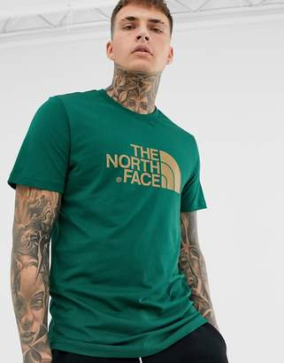 The North Face Easy t-shirt in night green