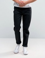Edwin ED-45 Black Selvage Tapered Jeans