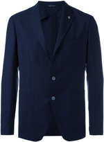 Tagliatore two button blazer - men - Cupro/Mohair/Wool - 52