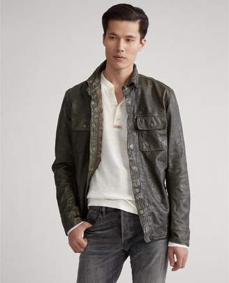Ralph Lauren Leather CPO Shirt Jacket