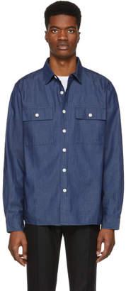 Saturdays NYC Indigo Denim Magnus Shirt