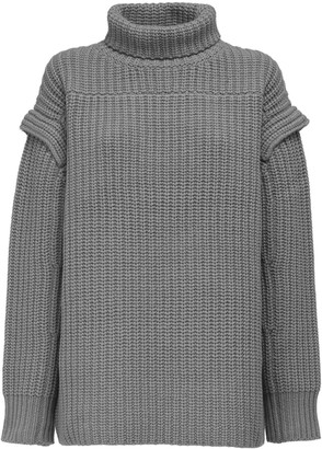 LOULOU STUDIO Stintino Cashmere & Wool Knit Sweater
