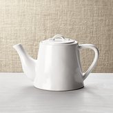 Crate & Barrel Marin White Teapot