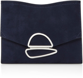 Proenza Schouler Embellished Suede Shoulder Bag