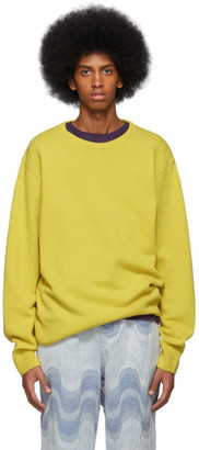 Dries Van Noten Yellow Naples Sweater