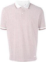 Prada star print polo shirt - men - Cotton - S