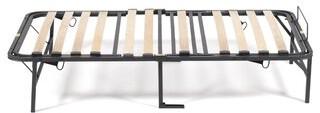 Pragmabed Simple Adjust Head And Foot Wood Slat Manually Adjustable Foundation Pragma Bed Size: Twin XL
