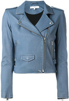 IRO fitted cropped jacket - women - Lamb Skin/Rayon - 40