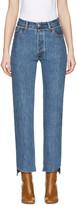 Vetements Blue Levi's Edition Classic Reworked Denim Jeans