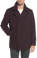Michael Kors Men's Wool Blend Peacoat