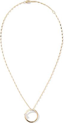 Lana 14k Solo Circle Necklace