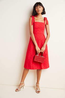 Hutch Kari Eyelet Midi Dress