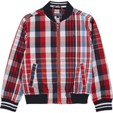 Tommy Hilfiger Checked Bomber Jacket 4-16 Years