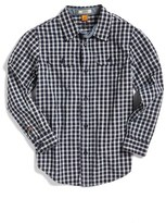 Tailor Vintage Check Print Woven Shirt (Toddler Boys, Little Boys & Big Boys)