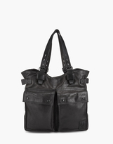Belstaff Pinner Tote Bag Black
