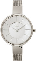 Obaku Ladies' Silver Tone Mesh Bracelet Watch