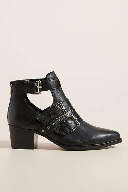 3d4b221338c Steven by Open Buckle Ankle Boots