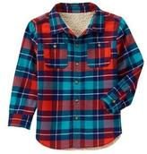 Crazy 8 Plaid Shirt Jacket
