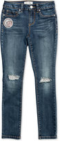 Jessica Simpson Moon Patch Distressed Jeans, Big Girls (7-16)
