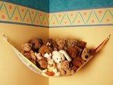 Toy Tech Teddy Hammock JUMBO Toy Storage Net - Primary [Baby Product]