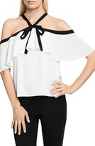 Vince Camuto Women's Ruffle Off The Shoulder Blouse
