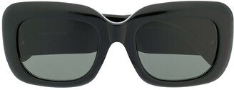 Linda Farrow Oversized Frame Sunglasses