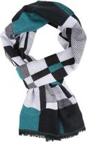 Sakkas 16134 - Cayla Long Checker Box Lined Design Patterned Warm Pashmina Shawl / Scarf - OS