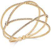 INC International Concepts Pavé Flex Cuff Bracelet, Only at Macy's