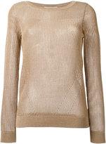 Michael Kors ribbed jumper - women - Cotton/Acrylic/Modacrylic/Polyester - L