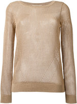 Michael Kors ribbed jumper - women - Cotton/Acrylic/Modacrylic/Polyester - M