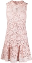 RED Valentino floral lace embroidered dress