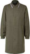 Prada Checked Wool Coat