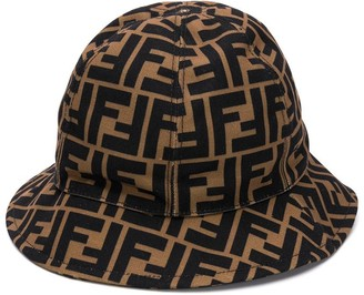 Fendi FF logo bucket hat