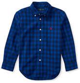 Ralph Lauren Childrenswear Checked Cotton Sport Shirt